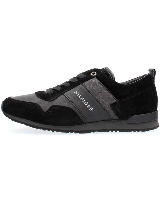 FM0FM00924 Chaussures Tommy Hilfiger pour homme en coloris Black