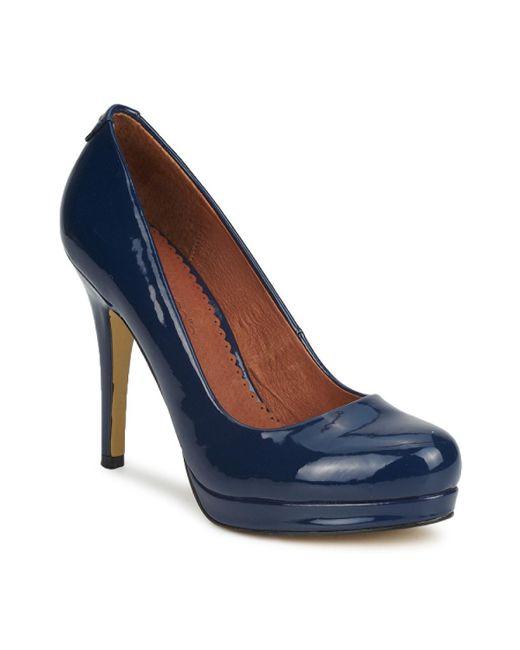 Moda In Pelle | Calleen Women's Court Shoes In Blue | Lyst