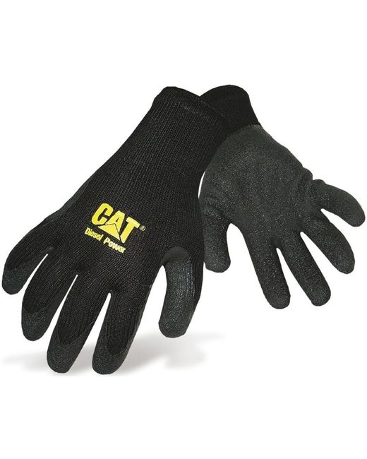 Caterpillar - Black CAT 17410 Gloves hommes Gants en Noir for Men - Lyst
