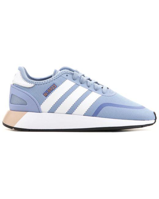Adidas Blue N-5923 W Aq0268 Shoes (trainers)