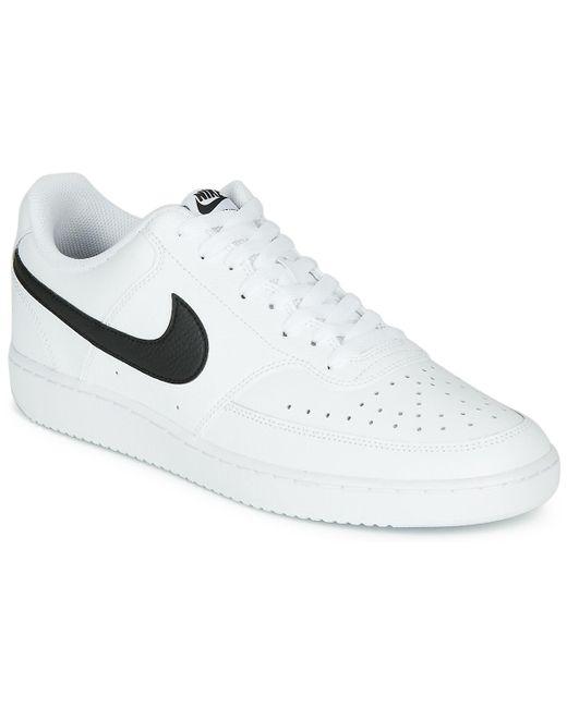 COURT VISION LOW Chaussures Nike pour homme en coloris Blanc - Lyst