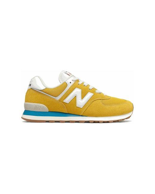 574 Chaussures New Balance pour homme en coloris Jaune - Lyst