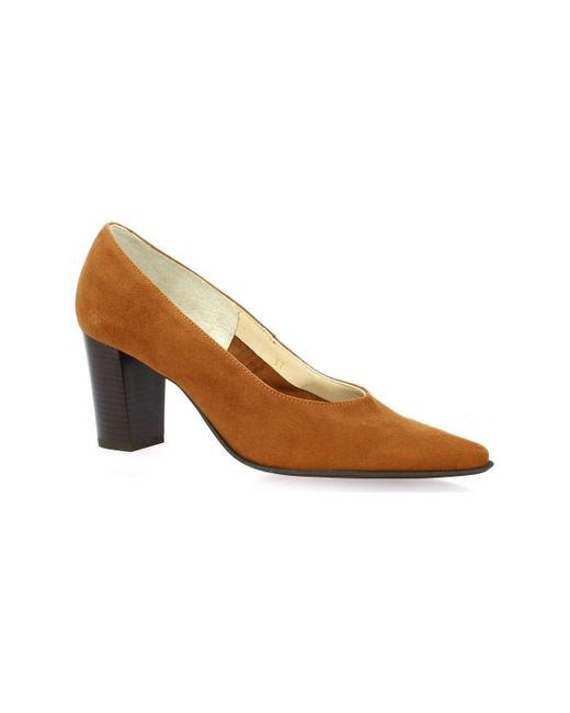 Chaussures escarpins Escarpins cuir velours Vidi Studio en coloris Brown