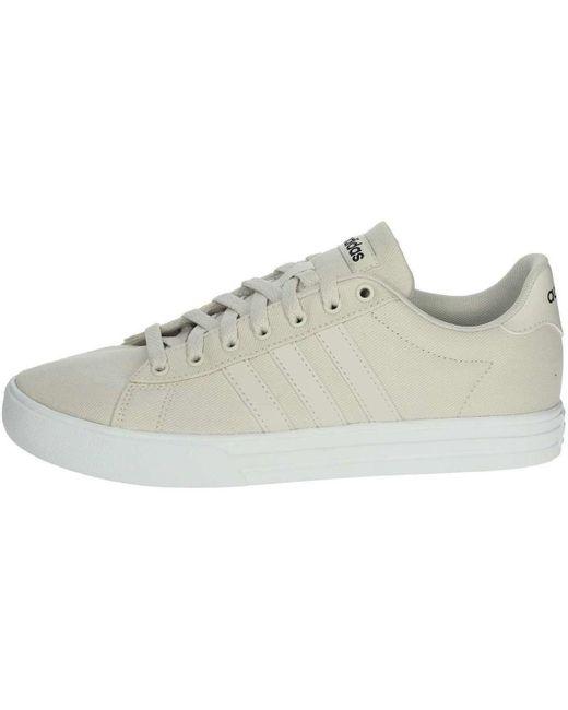 Adidas Lage Sneakers Daily 2.0 in het Natural voor heren