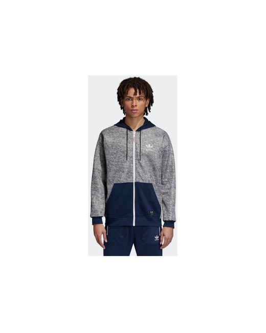 X United Arrows Sons Zip UP Hood Sweat-shirt Adidas pour homme en coloris Blue