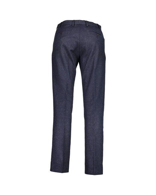 GANT Pantalon 1703.1500133 homme de coloris bleu