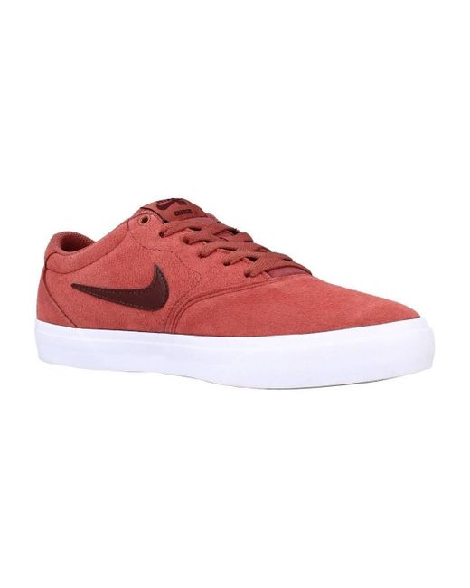 SB CHARGE SUEDE Chaussures Nike pour homme en coloris Rouge - 44 ...