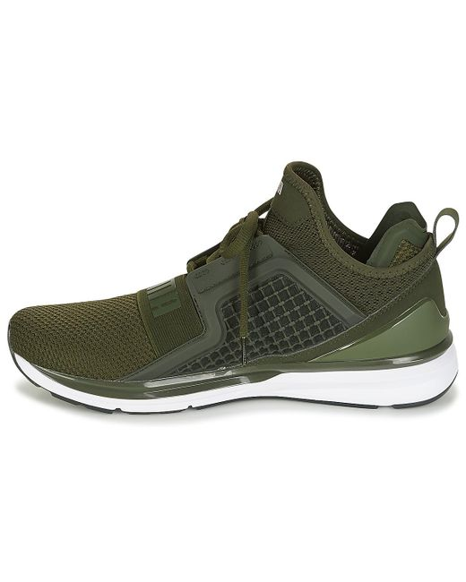 ... PUMA - Ignite Limitless Weave Men s Running Trainers In Green for Men  ... d4040a0b7