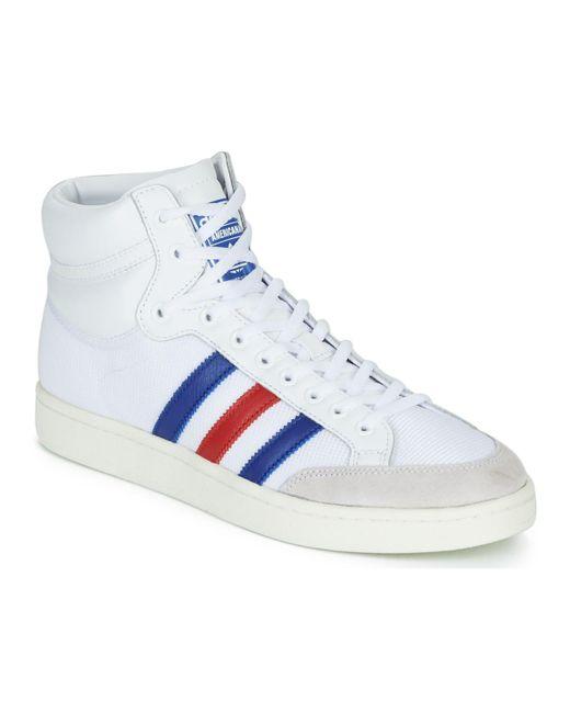 hoge witte adidas sneakers heren