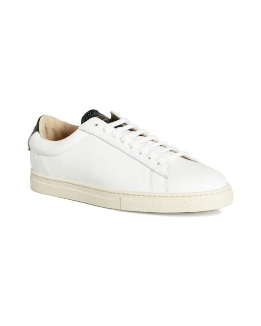 Zespà | Nappa Sneakers 48178 White Women's Trainers In White ...