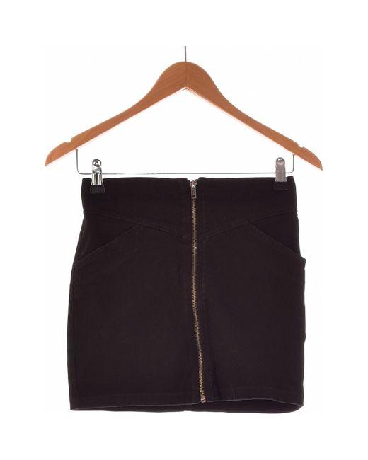 Jupe Courte 34 - T0 - Xs Jupes H&M en coloris Black