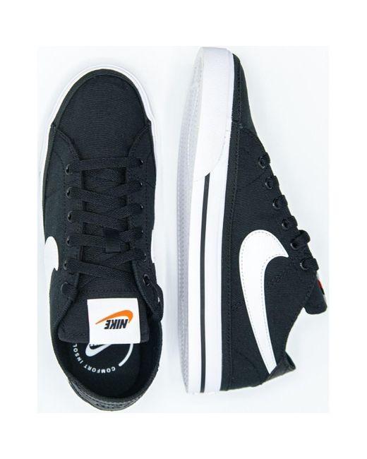 Court Legacy Chaussures Toile Nike pour homme en coloris Blanc - Lyst