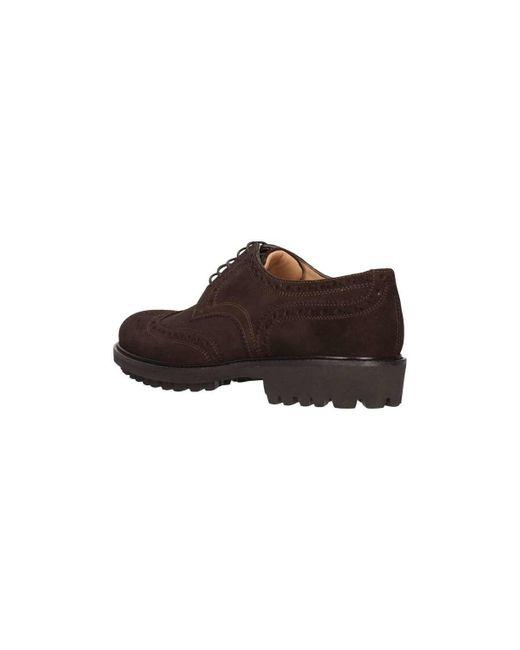 214-03b Francesina Homme T Moro Chaussures Triver Flight pour homme en coloris Brown