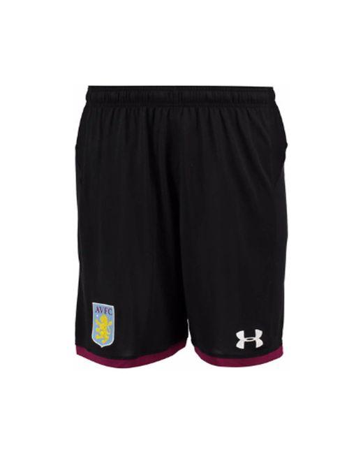 Under Armour - 2017-2018 Aston Villa Away Football Shorts Women's Shorts In Black - Lyst