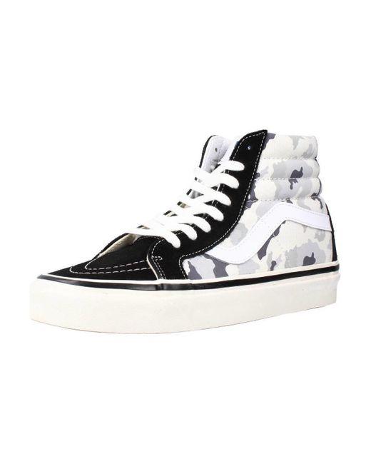 UA SK8-HI 38 DX Chaussures Vans pour homme en coloris Noir - 49 ...