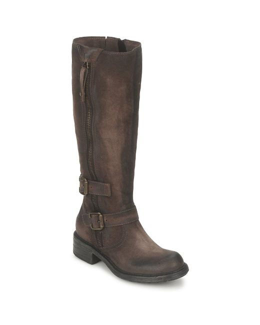 Dream in Green - Arnido Women's High Boots In Brown - Lyst