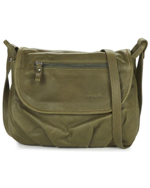 Nat Et Nin   Jen Women's Shoulder Bag In Green   Lyst