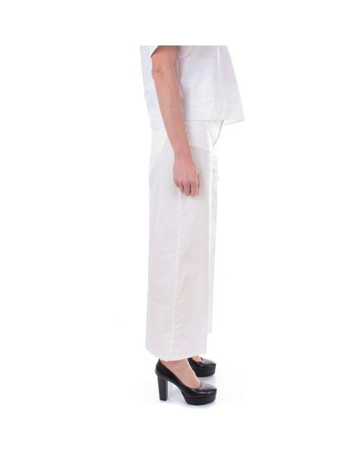 Manila Grace PANTALONE PALAZZO MD537 Pantalon femme