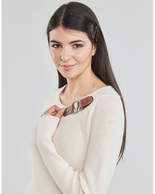 Lauren by Ralph Lauren Trui Deryna in het White