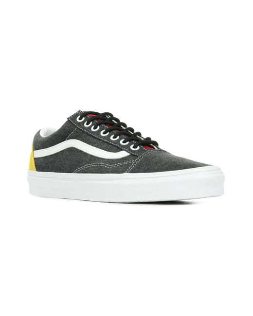 Old Skool Chaussures Vans pour homme en coloris Noir - Lyst