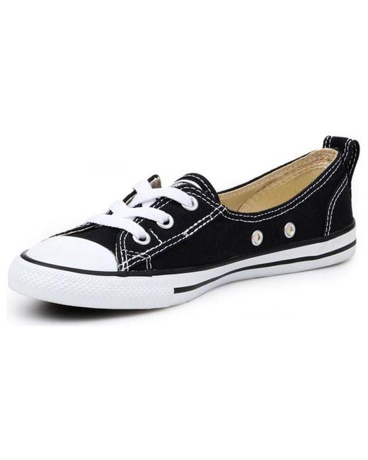 592d83b6602860 ... Converse - Chuck Taylor Ballet Lace 547162c Women s Shoes (trainers) In  Black ...
