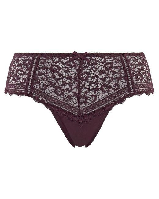 Shorties & boxers Shorty figue Elena Pommpoire en coloris Purple