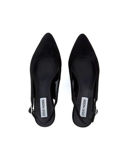 cd5b504fc91 ... Steve Madden - Dizzy Black Suede Sandal Women s Sandals In Black - Lyst