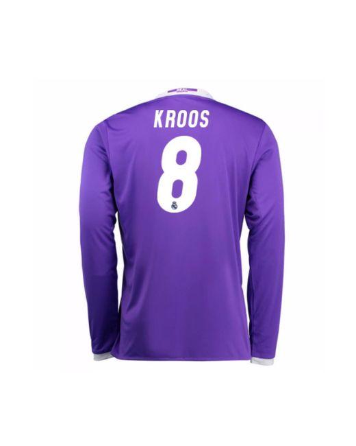 ff1888489 ... Adidas - 2016-17 Real Madrid Away Shirt (kroos 8) - Kids Women s ...