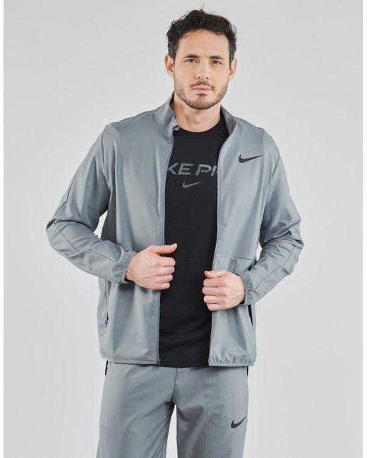 Nike Trainingsjack Df Teawvn Jkt in het Gray voor heren