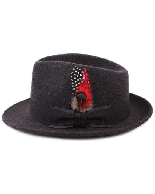 Plumes Pour Chapeau 4 Chapeau Classic Italy en coloris Red