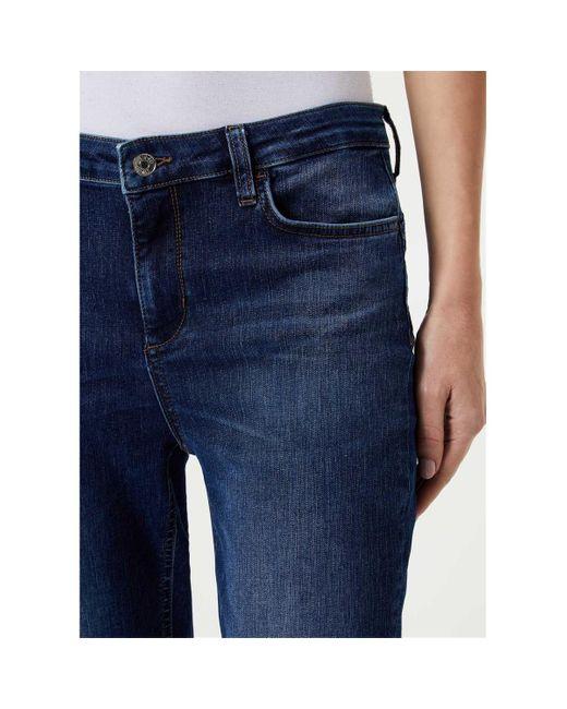 Liu Jo PRECIOUS UA0028 D4440 JEANS Femme DENIM MEDIUM BLUE Jeans de coloris bleu