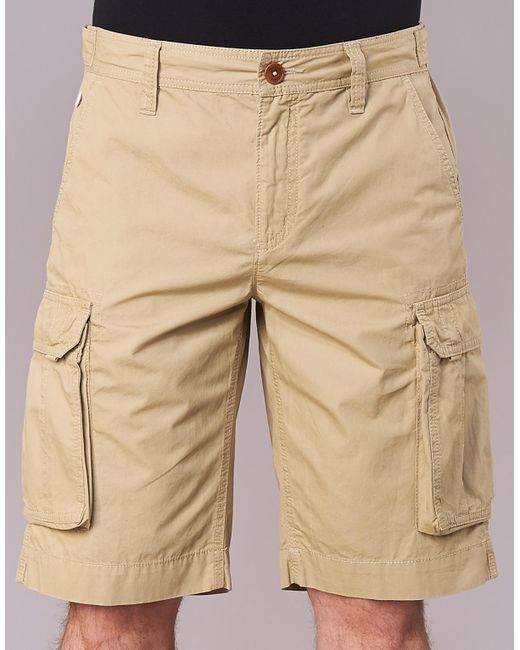 ... Aigle - Natural Accon Men's Shorts In Beige for Men ...