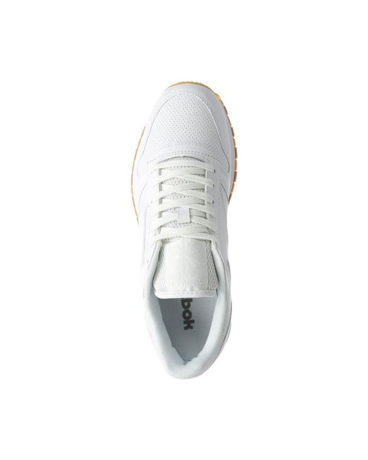 ... Reebok - Classic Leather Pg Men s Shoes (trainers) In White for Men -  Lyst 4c154e560