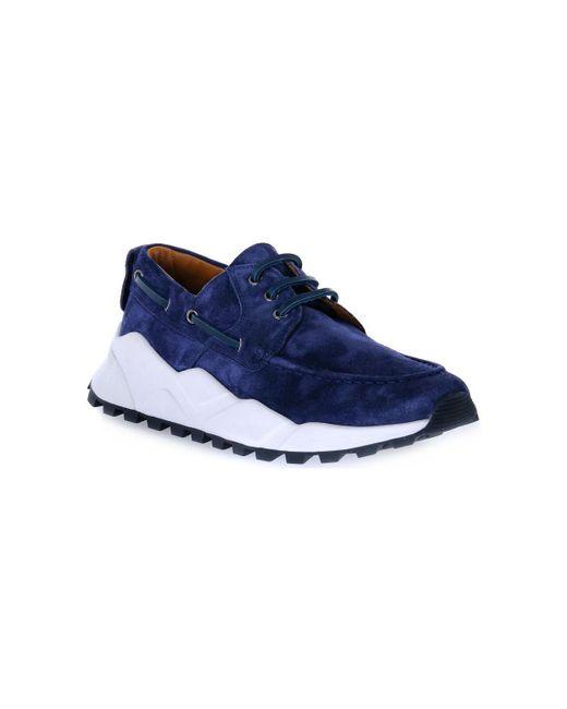 C01 EXTREEMER BLU Chaussures Voile Blanche pour homme en coloris Blue