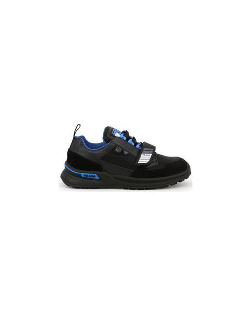 Baskets basses - 2eg266 Prada pour homme en coloris Black