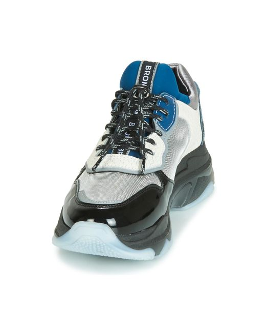 Bronx Lage Sneakers Baisley in het Gray