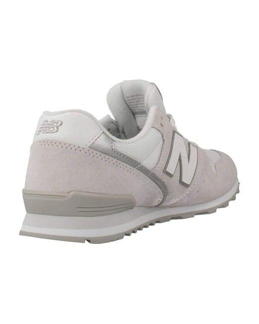 WL996 Femme Sneaker Gris 40.5 EU Baskets New Balance en coloris ...