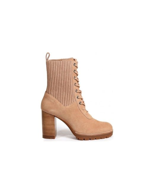 Bottines Bottines What For en coloris Brown