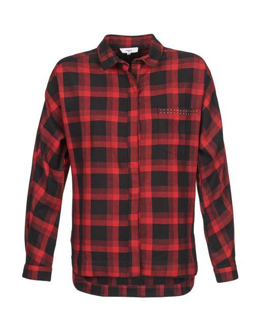 Suncoo Overhemd Lotis in het Red