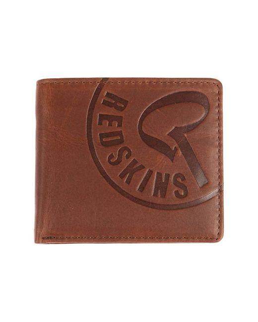 Petite maroquinerie Portefeuille Redskins pour homme en coloris Brown