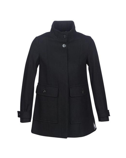 Benetton Black Martino Coat