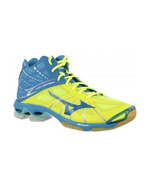 Mizuno   Wave Lightning Z Mid Men's Shoes (high-top Trainers) In Blue for Men   Lyst