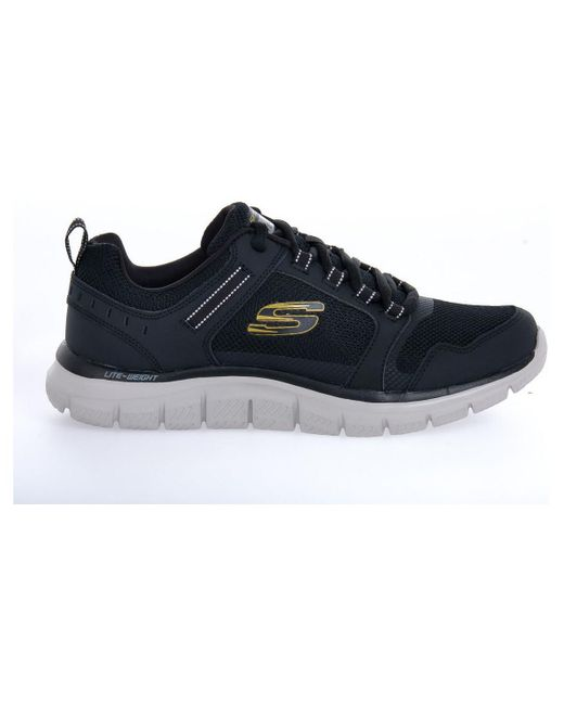 Baskets basses TRACK KNOCK Skechers pour homme en coloris Black