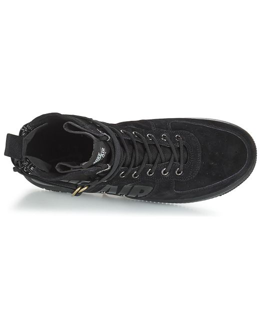 5e96f317416 Nike Sf Air Force 1 Mid Shoes (high-top Trainers) in Black for Men ...