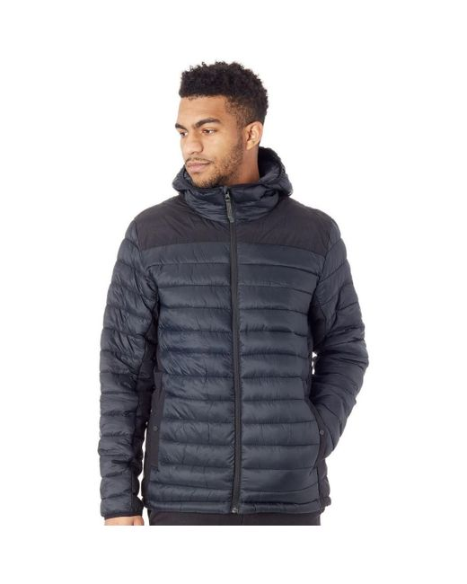 Burton True Black Evergreen Synthetic Hooded Jacket Jacket for men