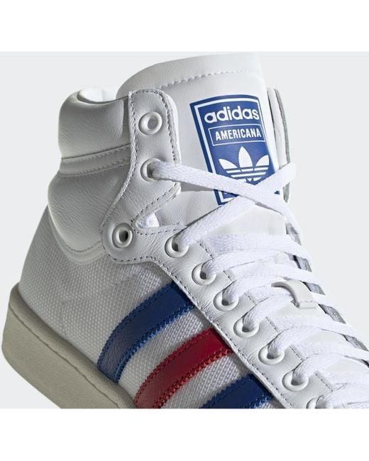 Americana Hi Chaussures adidas pour homme en coloris Bleu - Lyst