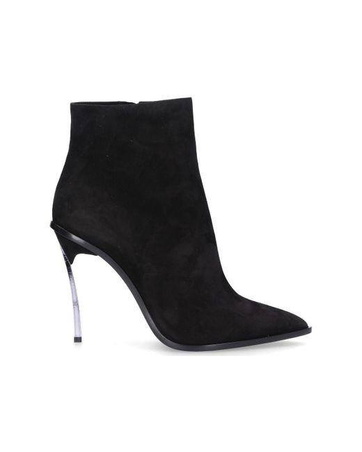 Boots Casadei en coloris Black