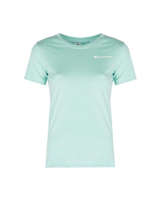 Champion T-shirt Korte Mouw in het Blue