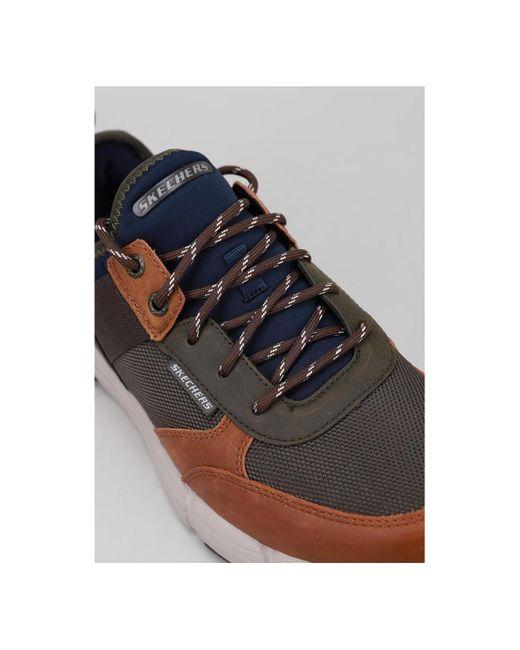 Skechers Lage Sneakers 66177 Metco in het Multicolor voor heren