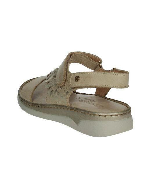 C413 Sandales RIPOSELLA® en coloris Natural